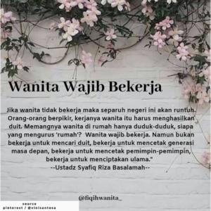 Istri Bekerja Dalam Islam Apa Hukumnya